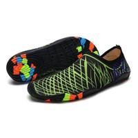 chaussures aux pieds nus pour les enfants achat en gros de-Différence Styles Plongée Plage Mesh Chaussures Non-Slip Slip-on Barefoot Bottes Nautiques Chaussures De Peau Aqua Socks Adultes Enfants Natation Suring New Hot