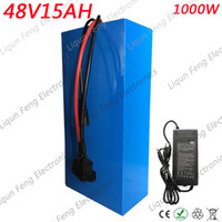 Wholesale 48V AH Battery Pack V AH W Ebike E scooter Lithium ion Battery A BMS and V A Charger Free Customs Tax