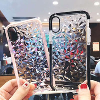 Wholesale bumper case cellphone online - 2018 For New XS XR XS MAX Cellphone Cover Case Rugged Soft TPU with Bumper Protector Case For Samsung S9 Note in Bag