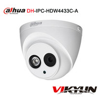 Wholesale Cctv Dahua - Dahua IPC-HDW4433C-A replace upgrade IPC-HDW4431C-A 4MP Network IP Camera IR POE CCTV Mic Built-in H265 replace IPC-HDW4421C-A