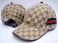 chapeaux d'été ajustables achat en gros de-En gros haute qualité luxe chapeau designer de mode marque casquette de baseball hommes et femmes casual sport casquette de baseball d'été chapeau de soleil réglable