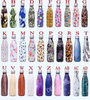 Wholesale thermos thermal bottle - New Listing oz ml Cola Bottle Army Emotion Cute Vacuum Stainless Steel Tumbler Thermos Water Bottle Coke cup