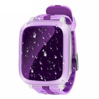 en yeni akıllı saat toptan satış-NeWest DS18 Akıllı İzle Çocuklar Bebek Monitörü Desteği SIM Kart Çocuk GPS WiFi Bulucu Izci SOS Çağrı SMS Anti kayıp Smartwatch