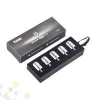 Authentic Yocan Evolve Plus Coil Replacement Coils QDC Quartz Dual Coils Wax Vape Pen E Cigarette 100% Original DHL Free