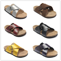 46a366479 ... quente de verão moda casual chinelos sandália para qualidade superior  preto branco vermelho marrom homens mulheres designer de chinelos tamanho 35 -46