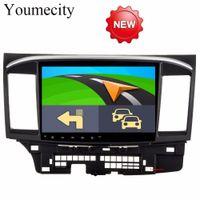 touch mp3 spieler großhandel-Octa Core Android 8.1 Auto DVD GPS-Player für MITSUBISHI LANCER 2008-2016 9 10 Autoradio Video Stereo Audio Navigation