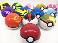Wholesale pocket pikachu - Wholesale 7cm Anime Ball Figures ABS Super Master Pocket Pikachu Ball Toys Action Figure Toy Gifts for Children