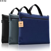 f618f9d312b5 MIWIND New A4 Canvas Office Briefcases for Men and Women Lightweight  Messenger Bag Men File Storage Bag Handbag Briefcases 1338