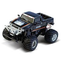 modelo 58 venda por atacado-1:58 remoto pequeno hummer um veículo lâmpada recarregável mini controle remoto modelo suvs crianças