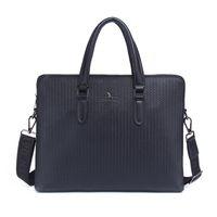 Wholesale orange laptop messengers online - Fashion Vintage Men Casual Portable Briefcase Bag Shoulder Messenger Bags High Quality Business Computer Laptop Handbag