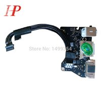 Wholesale i o board resale online - Genunie Year A1465 Power Audio Board For Macbook Air A1465 USB I O Power Dock A