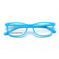 gafas de niños azules al por mayor-YOUTOP Boys Fashion Eye glasses Kid's Anti-Blue Ray Prescription Marcos ópticos Children's Myopia Gel de sílice eyewear NO.2