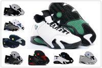 Wholesale Mens Basketball Shoes Sale - 2018 basketball shoes 14 mens Indiglo Oxidized Green Thunder Black Mens Basketball Shoes For Sale Men Athletic Sneakers