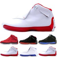 Wholesale outdoor pigs - 2018 18 18s Mens Basketball Shoes Toro OG ASG Black White Red Bred Royal Blue Sports Sneakers trainers outdoor designer