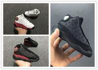 vente de chaussures pour bébés achat en gros de-nike air jordan aj13 2018 Nouveau 5 couleur 13 bébé enfants basket chaussures à vendre 13S Infant Sports sneaker garçon et fille enfants Sport Chaussures Sneaker 22-27