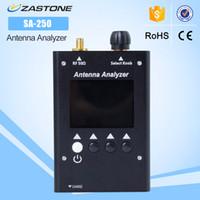 Wholesale radio analyzer - SURECOM SA250 132-173   200-260   400-519MHz SA-250 Colour Graphic Antenna Analyzer For Walkie Talkie