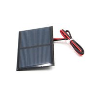 Wholesale module panel for sale - 10pcs x V mA with cm extend cable Solar Panel Polycrystalline Silicon DIY Battery Charger Module Mini Solar Cell wire toy