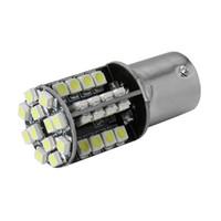 Wholesale p21w led white canbus - 1Pcs 1156 BA15S P21W 3528 SMD 44 LED Car Reverse Brake Light White 12V Canbus No Error Bulb Lamp