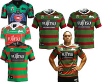 Wholesale north south - SOUTH SYDNEY RABBITOHS 2018 JERSEY size S-3XL SYDNEY ROOSTERS WESTS TIGERS JERSEY ST GEORGE DRAGONS 2018 NORTH QUEENSLAND COWBOYS