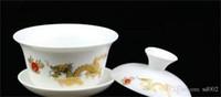 ingrosso regalo della tazza della porcellana-Alta qualità Cina Tea Set tazza di corsa regalo di business flessibile teiera retrò squisiti Ceramica Alta durezza Eco Friendly 18 xf jj