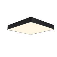 plafones amarillos al por mayor-Colorido redondo Macaron Remote Dimming inteligente llevó la luz de techo blanco negro verde rosa color amarillo personalidad lámpara de techo