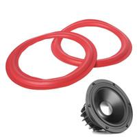 Wholesale accessories speakers online - Woofer Speakers Repair Accessories Red Inch Subwoofer Speaker Surround Foam