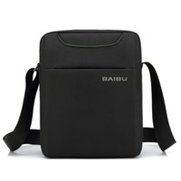 bolsas de hombre para el trabajo al por mayor-Bolso de hombre Impermeable Oxford Messenger Bag Business Casual Maletín Crossbody Bolsa Male Travel Maletín paquete de trabajo