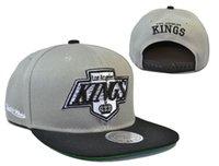 hut könig stil großhandel-neuen Stil Ankunft Stil Los Angeles Kings Baseballmützen, Kings Baseball Snapback, Kings Bone Hysteresenhüte Hockey Männer Frauen Kappen