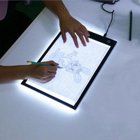 Wholesale tablet draw for sale - Group buy LED Graphic Tablet Writing Painting Light Box Tracing Board Copy Pads Digital Drawing Tablet Artcraft A4 Copy Table LED Board Lighting