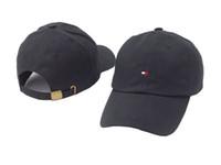 basebol alto venda por atacado-Novo Estilo de alta qualidade osso da marca Curvo viseira Casquette boné de beisebol das mulheres gorras Urso pai polo chapéus para homens hip hop Snapback Caps