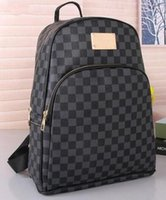 Wholesale Lady Leather Backpacks - 2018 hot New Arrival Fashion Women School Bags Hot Punk style Men Backpack designer Backpack PU Leather Lady Bags