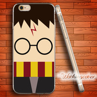Wholesale iphone 4s cartoon - Coque Cartoon Harry Potter Clear TPU Case for iPhone X 8 6 6S 7 Plus 5S SE 5 5C 4S 4 Case for iPod Touch 6 5 Cover.