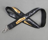 Wholesale free discount cards for sale - Discount Logo Custom Neck Strap Polyester Satin Lanyard for Camera Mp3 ID Card holder Cell Phone