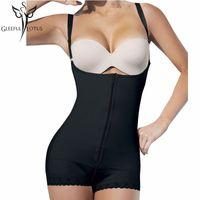 butt-modell großhandel-Schlankheits-Gürteln heißen Körperformer Frauen Butt Lifter Latex Taille Cincher Modelle Gurt Ganzkörper Korsetts Höschen Shapewear Mantel