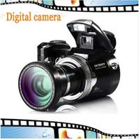 cmos sensor sd kamera großhandel-Digitale SLR-Kamera 5MP CMOS Digital Sensor 8X Zoom Schöne Videokamera Li-Batterie Günstige Marke Kamera