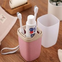 Wholesale climbing water bottle holders for sale - Group buy Plastic Toothbrush Holder water bottle Portable Toothpaste Toothbrush Storage Box Camping Brushing Teeth Tools for outdoor traveling