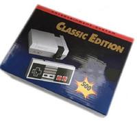 video game system venda por atacado-NES Mini 500 consolas de jogos Classic Game TV vídeo Handheld Console Entertainment System Jogos clássicos