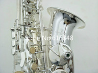 YANAGISAWA A-992 Brass Alto Saxophone Silver Plated Eb Tone E Flat Brand Musical Instrument Sax With Case Free Shipping