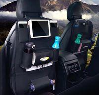 ingrosso tasca accessori auto-4 stili auto interni accessori tasche di stoccaggio portatile stivaggio riordino auto-styling universale auto sedile posteriore organizzatore sacchetto di immagazzinaggio FFA920