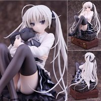 Wholesale 16cm gift box for sale - Group buy Japaness Starz Game In Solitude Where We Are Least Alone Empty Rim Kasugano Sora PVC Collection Best Gift Toys With Box cm