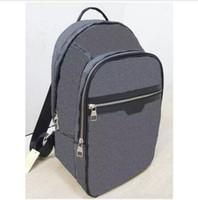 mochila mochila marcas venda por atacado-Designer de luxo Marca Mens Mochilas Europa Damier Cobal Mens saco de Viagem de Alta Qualidade saco de Escola
