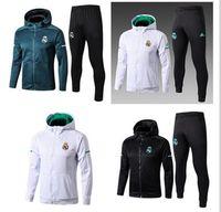 2018 2019 Real Madrid chaqueta de fútbol chándal de fútbol kits de  chaquetas para hombre 17 18 19 chandal DYBALA HAZARD chándal juv sudadera  S-XL 1b3402ae03acb