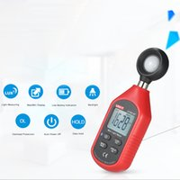 Wholesale digital lux light meter - UT383BT Mini Luminometer Handheld light meter LCD Digital Photometer Luxmeter pyranometer 0-199900 Lux