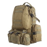 Wholesale sport bag for sale - Group buy Multifunction L Sport Bag Molle Tactical Bag Water Resistant Camouflage Backpack for Outdoor Climbing Hiking Camping Colors B