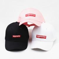 Wholesale wholesale designers baseball caps - Luxury Designer Dad Hats Baseball Cap For Men And Women Famous Brands Cotton Adjustable Skull Sport Golf Curved Hat Sport Caps
