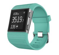 Wholesale smallest smart watch for sale – best For Fitbit Surge Bands TPU Replacement Strap for Fitbit Surge Watch Fitness Tracker Accessories Small Large