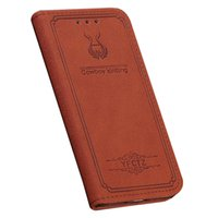 Wholesale iphone 5s case wallet for sale - Magnetic Leather Wallet case for iPhone X S Plus S SE Cowboy kintting Stylish Flip Cover for Samsung Galaxy S8 S9 Plus Card Holder