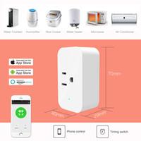 smart tv-stecker großhandel-2018 neue original xiaomi mi smart home streifen steckdose stecker intelligente steckdose mit wifi app fernbedienung für tv home kit