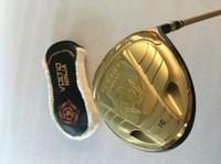 Wholesale golf clubs katana resale online - Katana Voltio Ninja Driver Gold Katana Voltio Golf Driver Katana Golf Clubs Degrees R S SR Graphite Shaft With Head Cover