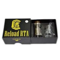 postlos rda großhandel-Reload RTA Tank Reload RDA 24mm Durchmesser mit Postless Deck Design Top Füllung 47mmX24mm VCC CoilART Azeroth RTA